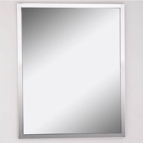 Inspiration about Urban Steel Rectangle Wall Mirror In Polished Or Brushed Stainless For Stainless Steel Wall Mirrors (#7 of 15)
