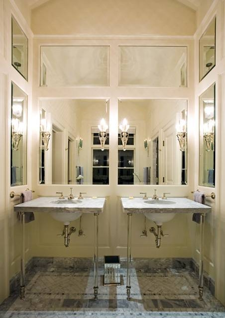 Used Wall Mirrors] Best 25 Mirror With Shelf Ideas On Pinterest Pertaining To Entire Wall Mirrors (View 13 of 15)