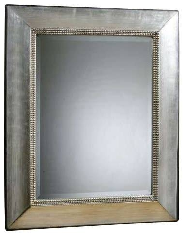 Uttermost Fresno Antique Silver Mirror – Contemporary – Wall Inside Uttermost Wall Mirrors (#6 of 15)