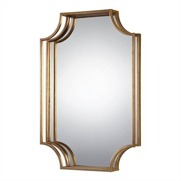 Inspiration about Uttermost Lindee Gold Wall Mirror | Uttermost Item 09123 Within Uttermost Wall Mirrors (#6 of 15)