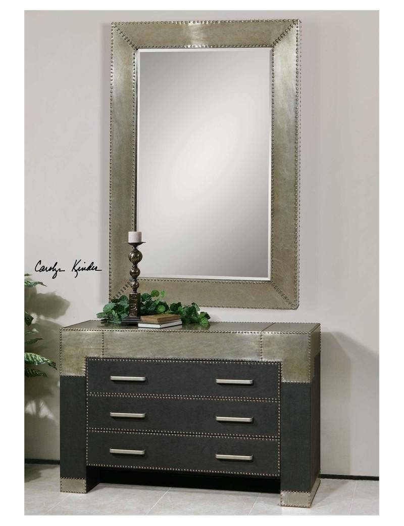 Inspiration about Uttermost Rashane Wall Mirror Throughout Wall Mirrors With Drawers (#15 of 15)