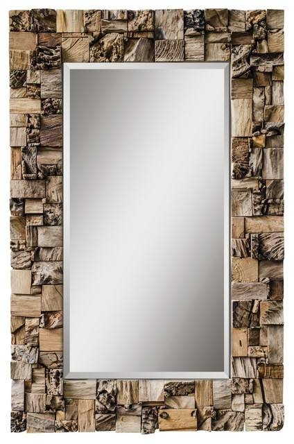 Inspiration about Uttermost Thatcher Teak Root Mirror – Rustic – Wall Mirrors – In Uttermost Wall Mirrors (#3 of 15)
