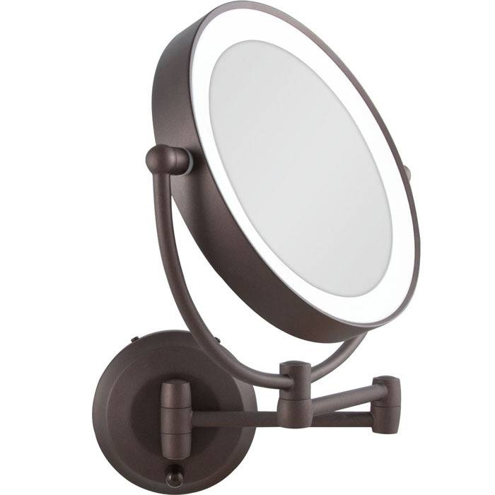 Vanity Mirrors | Makeup Mirrors Within Wall Mounted Lighted Makeup Mirrors (#12 of 15)