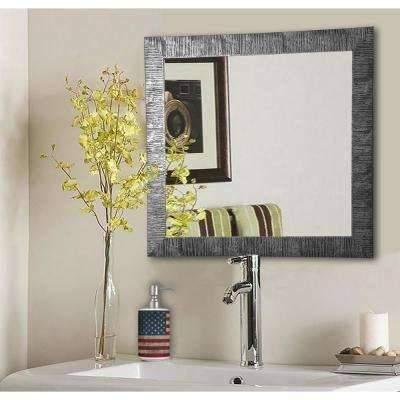 Inspiration about Vanity – Mirrors – Wall Decor – The Home Depot For Vanity Wall Mirrors (#13 of 15)
