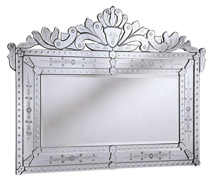 Inspiration about Venetian Wall Mirror Intended For Sparkle Wall Mirrors (#15 of 15)