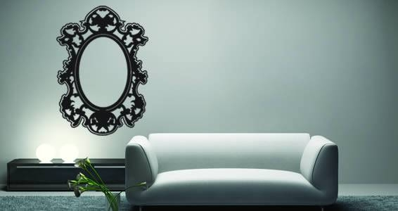 Inspiration about Venitian Wall Appliques | Dezign With A Z Regarding Wall Mirror Decals (#5 of 15)
