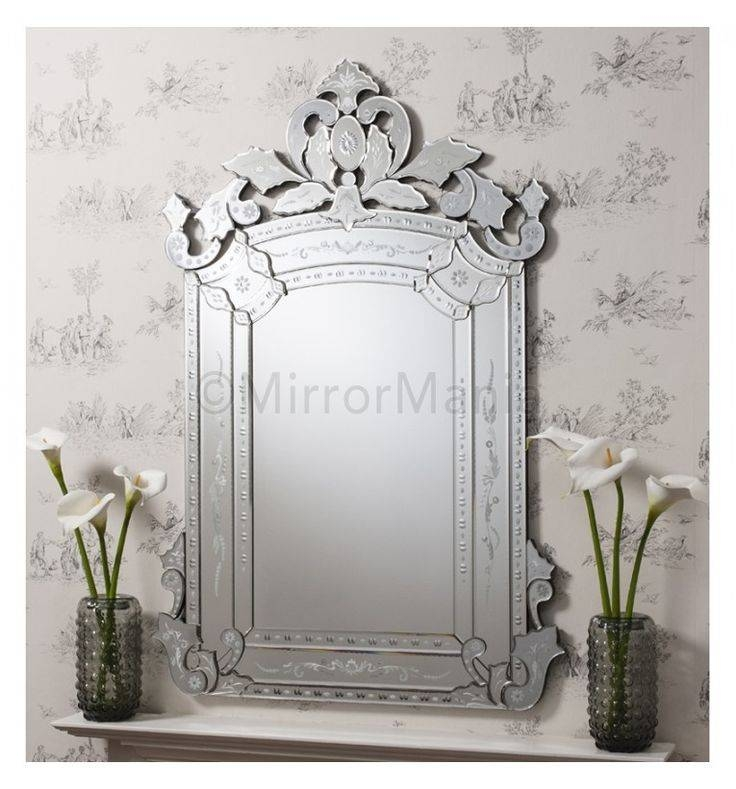 Inspiration about Veronica Venetian Wall Mirror – All Mirrors – Mirrors For Decorative Etched Wall Mirrors (#15 of 15)