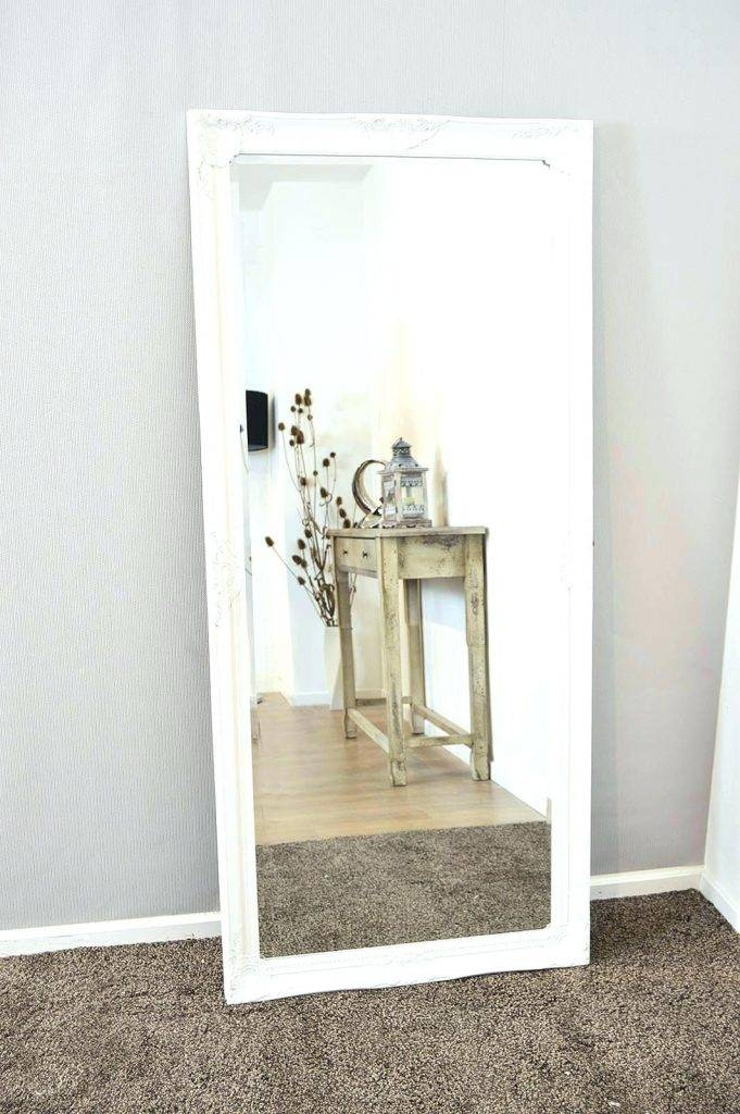 Inspiration about Very Large White Wall Mirror – Vinofestdc For Large White Framed Wall Mirrors (#12 of 15)