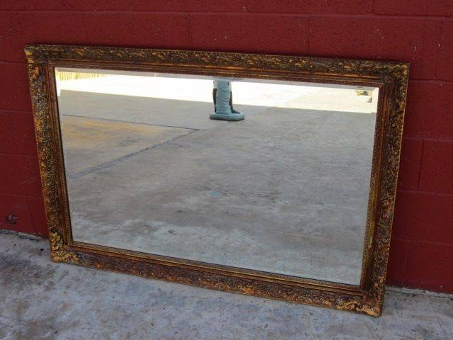Vintage American Gilt Gesso Wall Mirror American Furniture Sold On Within Large Vintage Wall Mirrors (#15 of 15)