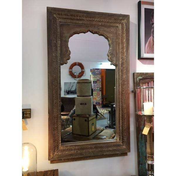 Inspiration about Vintage Wooden Mirror – Worldwide Reproductions In Vintage Wood Mirrors (#13 of 15)