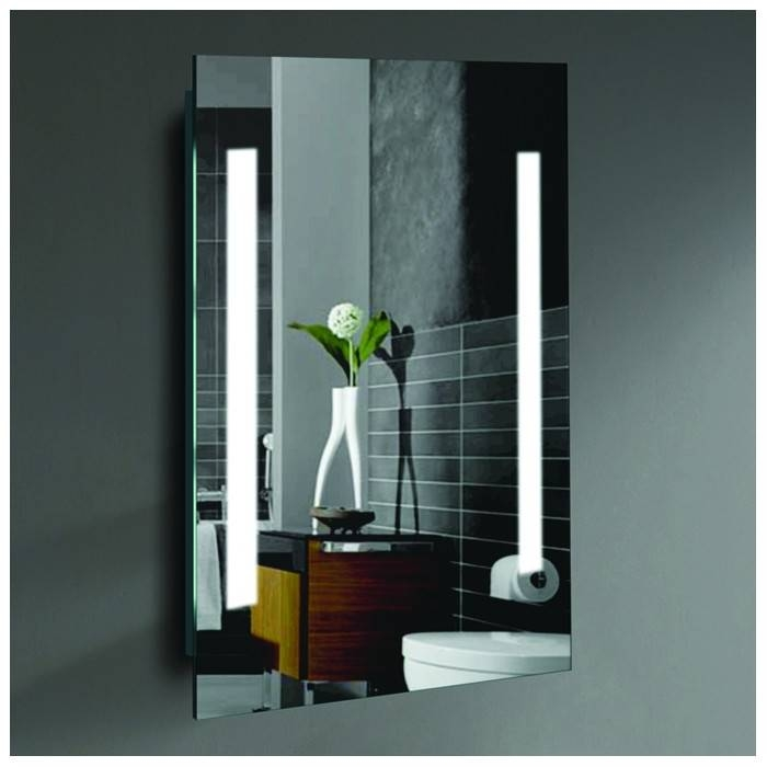 Wade Logan Led Lighted Mirror & Reviews | Wayfair Pertaining To Led Wall Mirrors (#13 of 15)