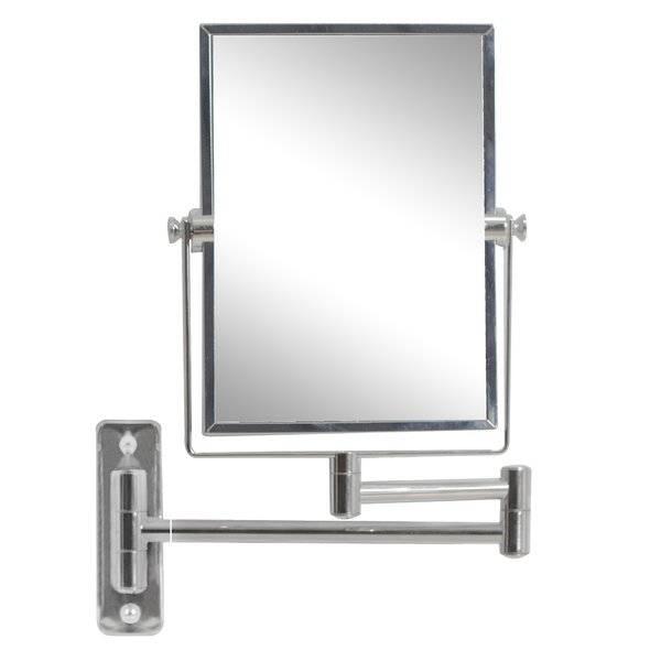 Wade Logan Rectangle Magnifying Wall Mirror & Reviews | Wayfair With Magnifying Wall Mirrors (#14 of 15)