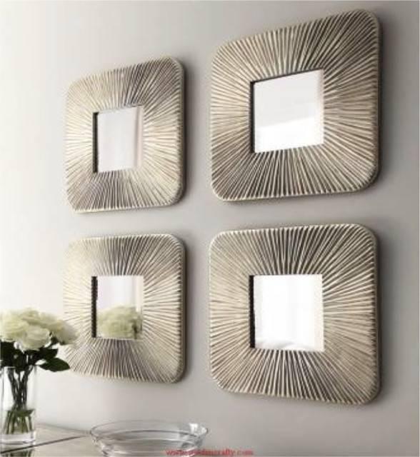 Wall Decor: Amazing Ideas Home Mirror Sets Wall Decor Wayfair In Decorative Wall Mirror Sets (#14 of 15)