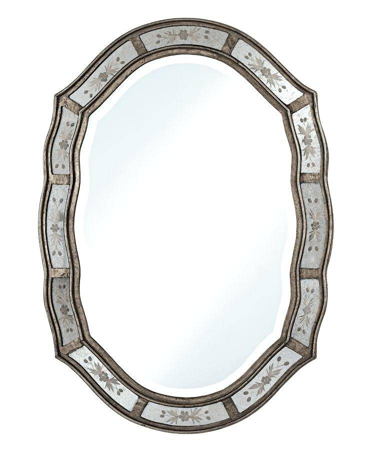 Wall Decor Ideas Diy Uttermost Etched High Mirror Best New Vintage Within Etched Wall Mirrors (#11 of 15)