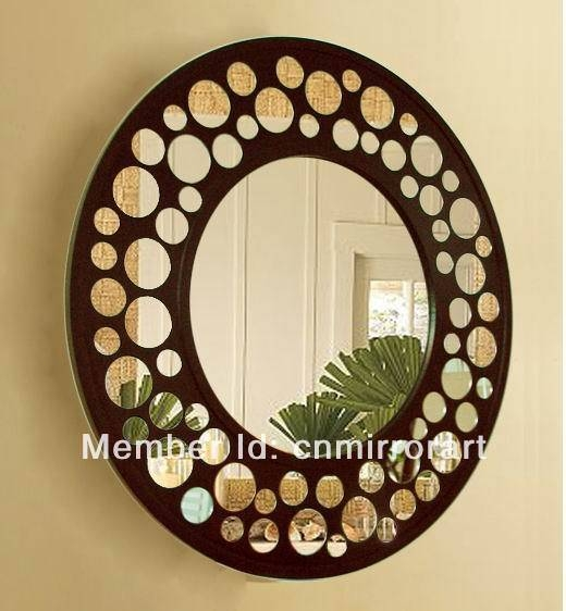 Wall Decor Mirrors | Roselawnlutheran With Decorative Wooden Mirrors (#15 of 15)