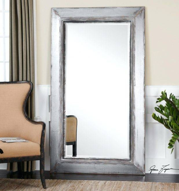 Wall Ideas Old Door Turned Into Full Length Mirror Large Size With Full Size Wall Mirrors (#11 of 15)