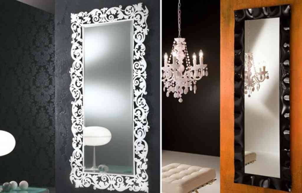 Wall Mirriors] Brayden Studio Classic White Vanity Wall Mirror In Light Wall Mirrors (#14 of 15)