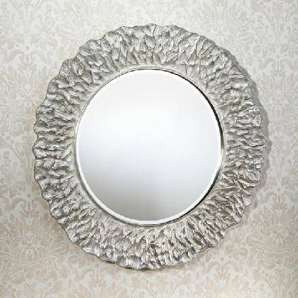 Wall Mirriors] Brayden Studio Classic White Vanity Wall Mirror Pertaining To Large Silver Wall Mirrors (#13 of 15)