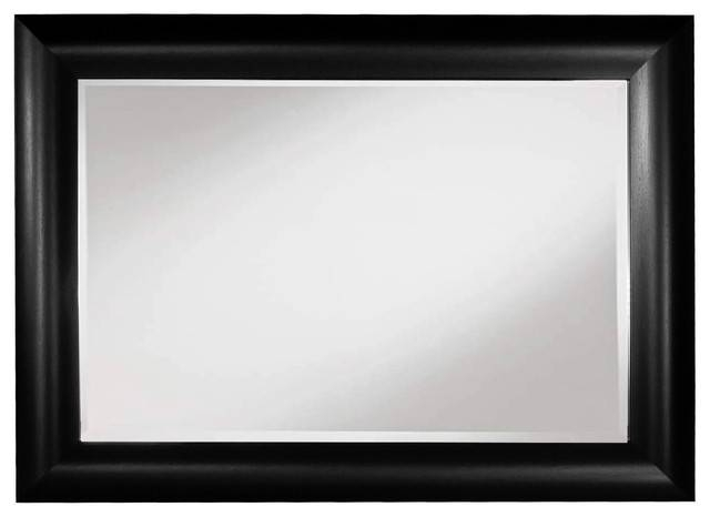 Popular Photo of Black Frame Wall Mirrors