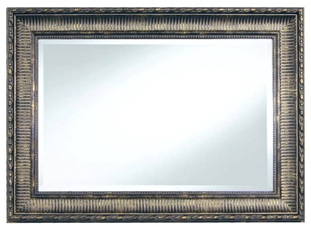 Popular Photo of Pewter Wall Mirrors