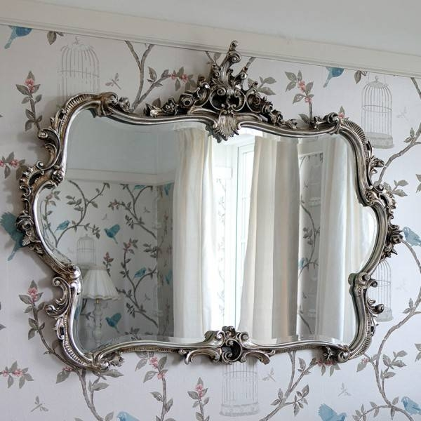 Best Antique Silver Wall Mirrors