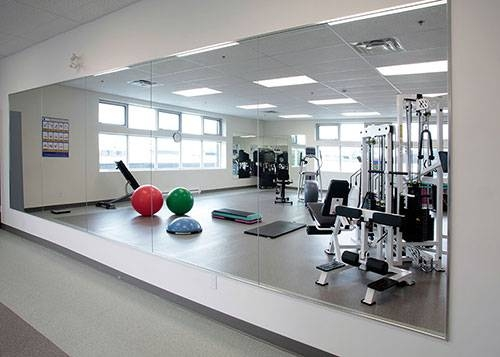 Popular Photo of Gym Wall Mirrors