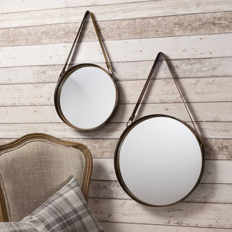 Popular Photo of Hanging Wall Mirrors