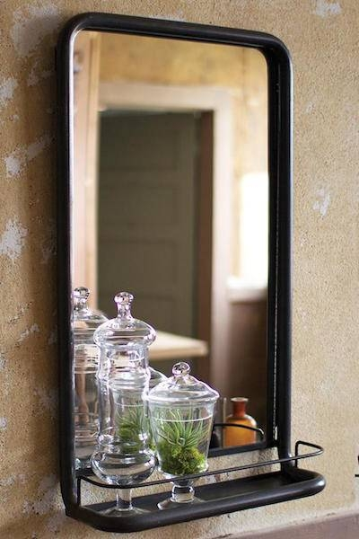 Popular Photo of Wall Mirrors With Shelf