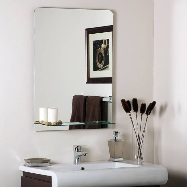 Wall Mirror With Shelf,wall Mirror With Shelf And Hooks,wall Regarding Wall Mirrors With Shelf And Hooks (#13 of 15)