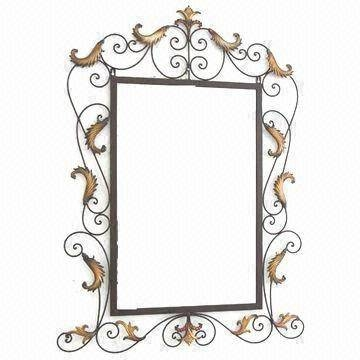 Wall Mirror, Wrought Iron Frame | Global Sources With Regard To Wrought Iron Wall Mirrors (#9 of 15)