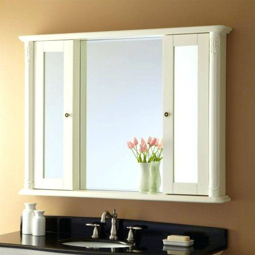 Wall Mirrors ~ 48 Inch Wall Mirror 48 Inch Wide Wall Mirror Framed Inside Wide Wall Mirrors (#13 of 15)