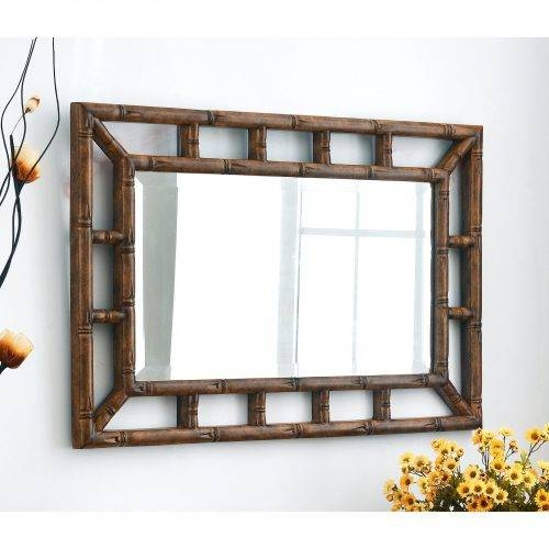 Wall Mirrors: Asian Inspired Wall Mirrors (View 4 of 15)