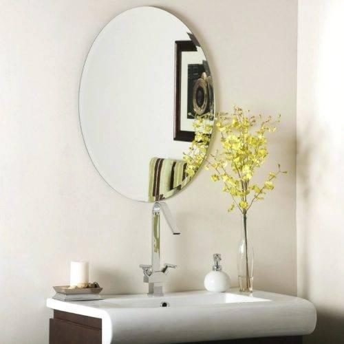 Wall Mirrors ~ Bathroom Wall Mirrors Uk Daccor Wonderland In Frameless Molten Wall Mirrors (#11 of 15)