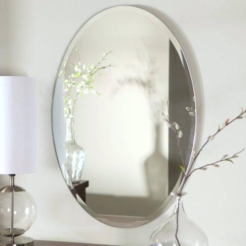 Wall Mirrors ~ Bathroom Wall Mirrors Uk Daccor Wonderland Pertaining To Frameless Molten Wall Mirrors (#13 of 15)