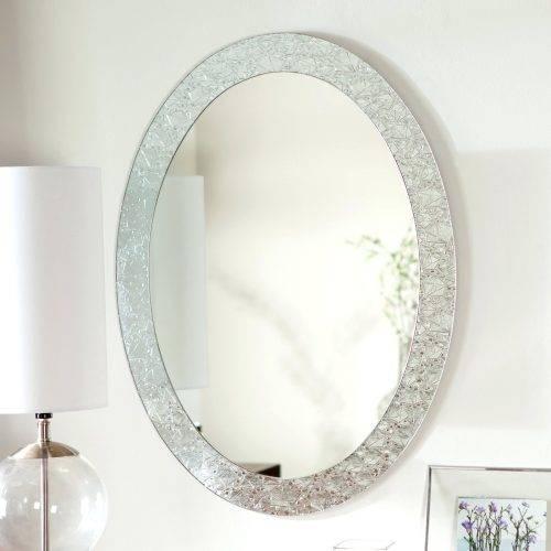 Wall Mirrors ~ Bathroom Wall Mirrors Uk Daccor Wonderland Pertaining To Frameless Molten Wall Mirrors (#12 of 15)