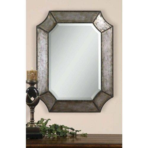 Wall Mirrors ~ Black Frame Full Length Wall Mirror Midcentury With Bamboo Framed Wall Mirrors (#12 of 15)