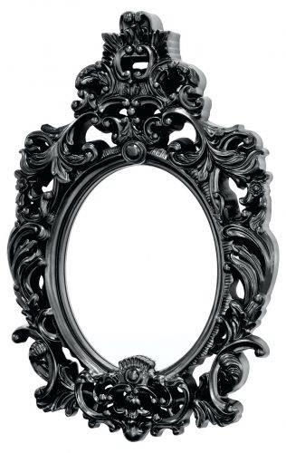 Wall Mirrors ~ Black Wall Mirror Amazon Black Wall Mirrors With Decorative Black Wall Mirrors (#12 of 15)