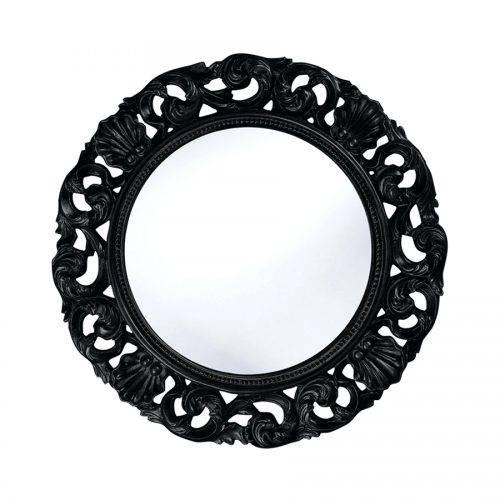 Wall Mirrors: Black Wall Mirror. Black Wall Mirrors Cheap (#14 of 15)