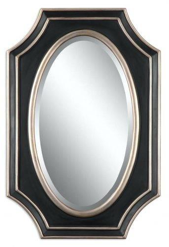 Wall Mirrors: Black Wall Mirrors Decorative (#15 of 15)