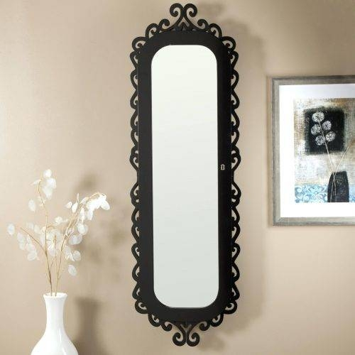Popular Photo of Cheap Black Wall Mirrors