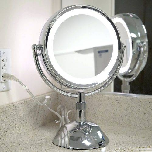 Wall Mirrors: Cosmetic Wall Mirror (#10 of 15)