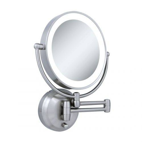 Wall Mirrors: Cosmetic Wall Mirror (#12 of 15)