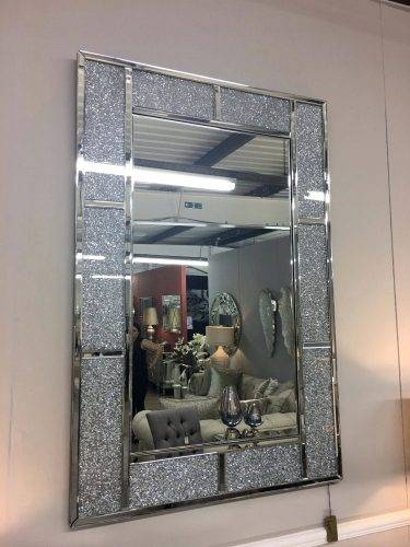 15 Inspirations Of Sparkle Wall Mirrors