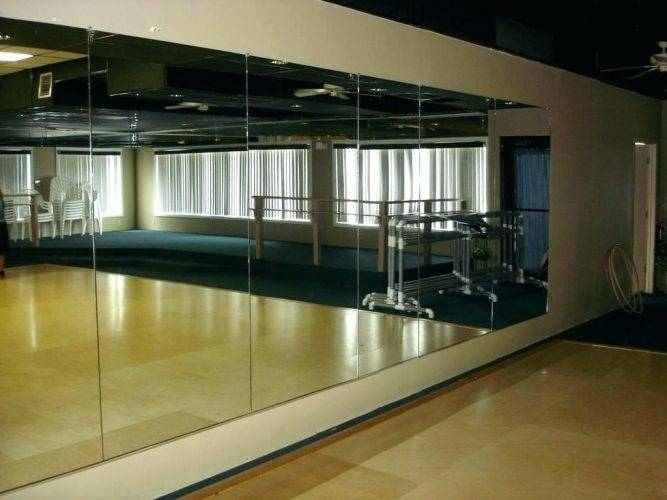Wall Mirrors ~ Dance Studio Wall Mirrors Sale Dance Wall Mirrors With Regard To Dance Wall Mirrors (#11 of 15)