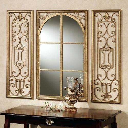 Wall Mirrors ~ Decorate Using Oversized Mirrors Large Dark Wood Within Dark Wood Wall Mirrors (#9 of 15)