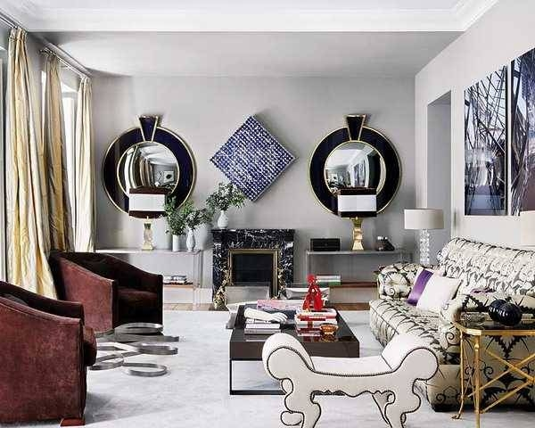 Wall Mirrors Decorative Wall Mirrors And Living Room Walls On With Regard To Wall Mirror Designs For Living Room (View 10 of 15)