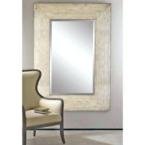 Wall Mirrors ~ Distressed Wood Framed Bathroom Mirrors Distressed With Distressed Wood Wall Mirrors (View 13 of 15)