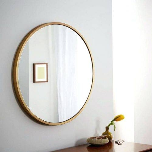 Wall Mirrors ~ Diy Rope Hanging Wall Mirrorjpg Large Round Wall Throughout Ikea Round Wall Mirrors (#14 of 15)
