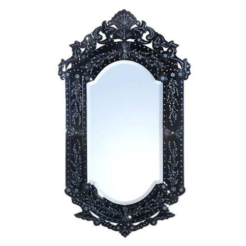 Wall Mirrors: Etched Wall Mirrors Decorative (#15 of 15)