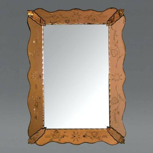 Wall Mirrors: Etched Wall Mirrors Decorative (#14 of 15)